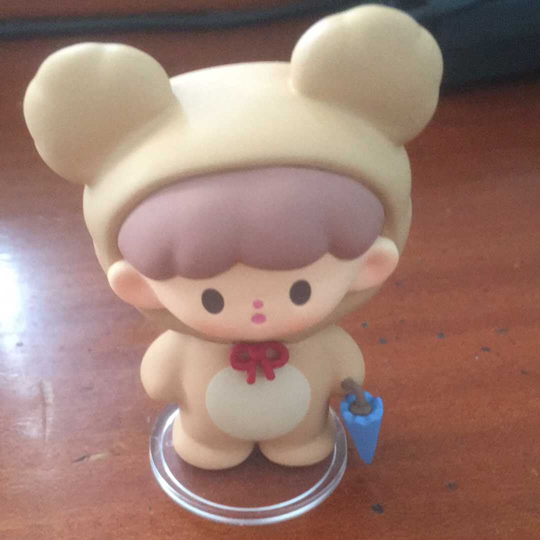 ZHUO DAWANG x F.UN Apple Village Beep-beep House Girl Mini Figure Toy Art Secret