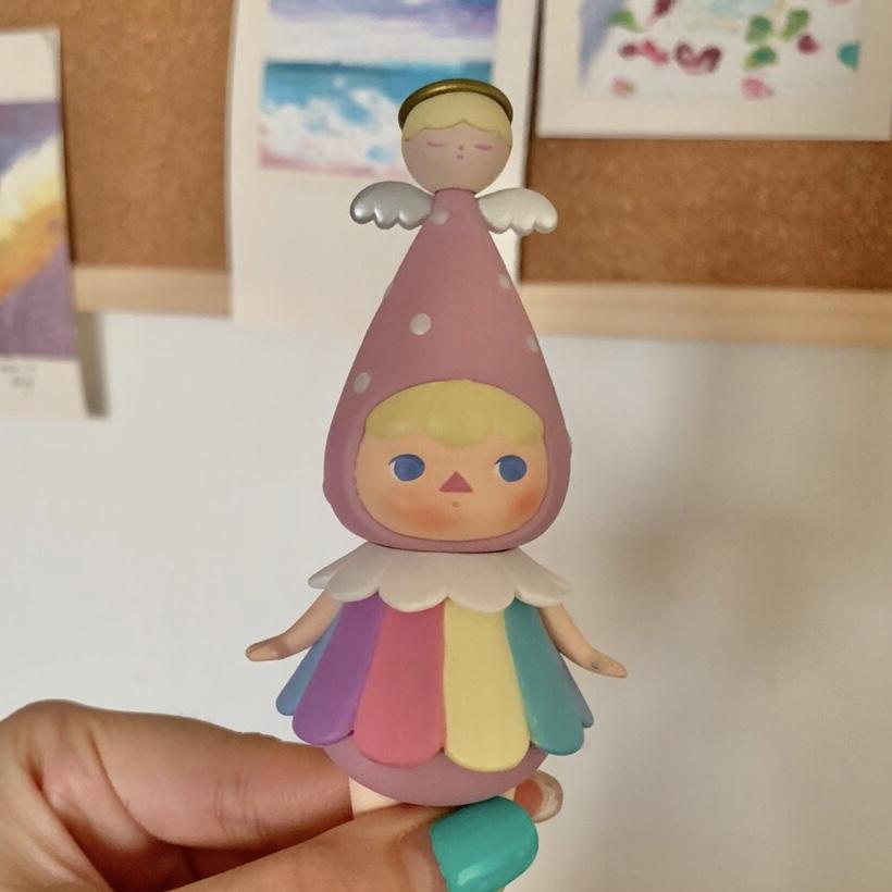 POP MART x PUCKY Xmas Babies Rainbow Angel Mini Figure ...