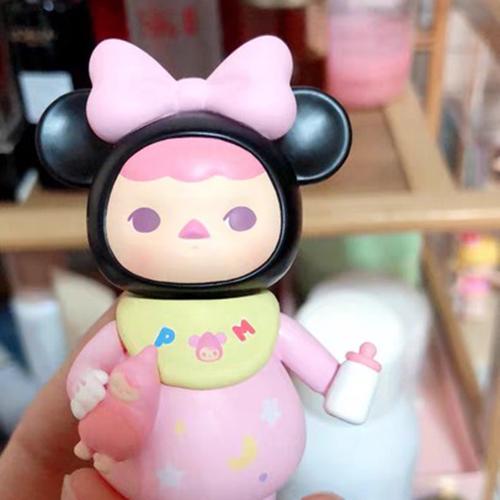 POP MART x PUCKY Mickey Family Series Mini Figure Goofy Designer Art Toy New