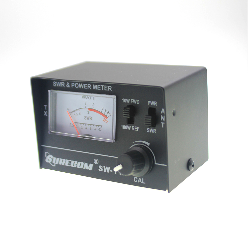 Mcbazel SURECOM SW-111 100 Watt SWR/Power Meter for CB Radio ...